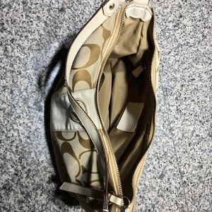 Coach Bags - Coach Signature Canvas Shoulder Hobo Handbag